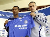 Ashley Cole and Jose Mourinho pictured in 2006