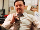Chilled-out entertainer David Brent in The Office