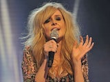 Diana Vickers pictured on The X Factor