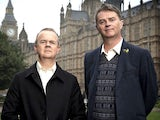Have I Got News For You panellists Ian Hislop and Paul Merton