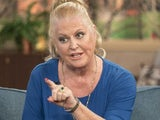 Kim Woodburn has a point to make