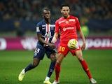 Paris Saint-Germain defender Tanguy Kouassi pictured in December 2019