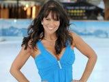 Linda Lusardi on ITV's Dancing On Ice