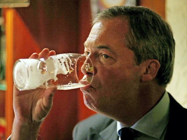 Nigel Farage in talks for 'Celebrity Hunted'?