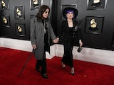 Ozzy Osbourne and daughter Kelly Osbourne pictured in January 2020
