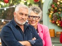 Paul Hollywood and Prue Leith from the Great British Bake Off