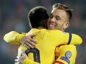 Arthur's Barcelona future still 'up in the air'
