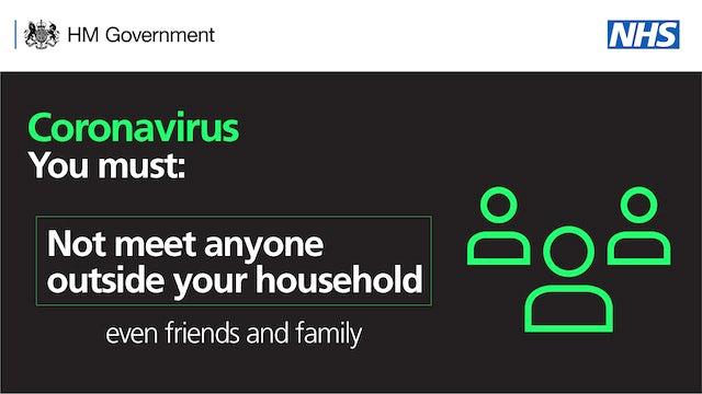 New coronavirus banner