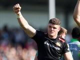 Dave Ewers pictured for Exeter chiefs in May 2018