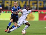Empoli attacker Hamed Traore in action against Inter Milan in May 2019