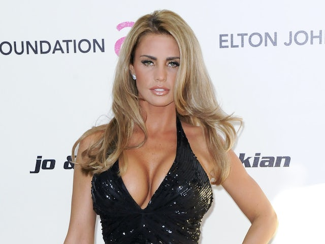 Katie Price pictured in February 2011