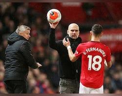 Bruno Fernandes regrets goading Pep Guardiola