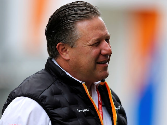 McLaren's Zak Brown pictured in 2019