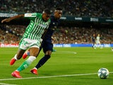 Real Betis defender Emerson pictured in action in March 2020