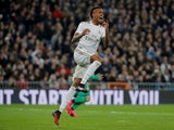 Real Madrid's Eder Militao pictured in action in February 2020
