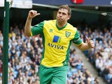 Grant Holt pictured for Norwich in 2013