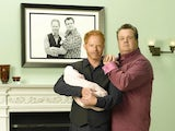 Jesse Tyler Ferguson and Eric Stonestreet in Modern Family