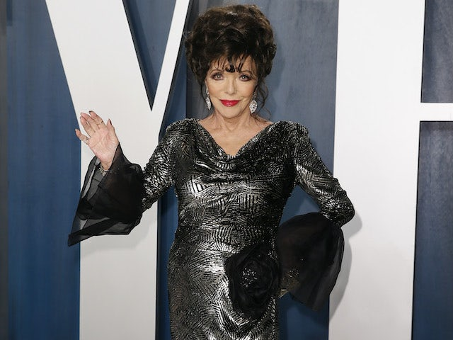 Lunch date with Joan Collins and Biggins goes up for auction