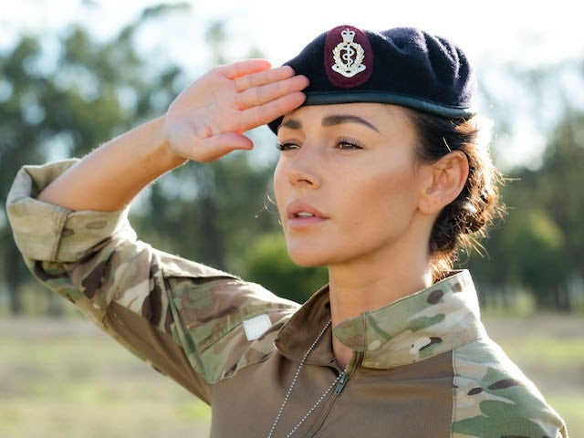 Michelle Keegan in Our Girl