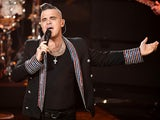 Robbie Williams pictured on December 7, 2019