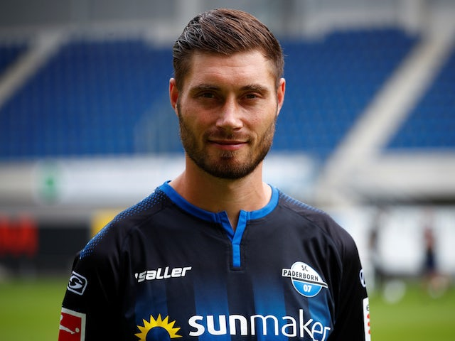 Paderborn's Christian Strohdiek pictured in Juoly 2019