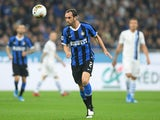 Diego Godin in Serie A action for Inter Milan in September 2019