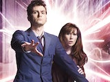 David Tennant and Catherine Tate as The Doctor and Donna Noble in Doctor Who