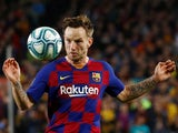 Barcelona midfielder Ivan Rakitic pictured in December 2019