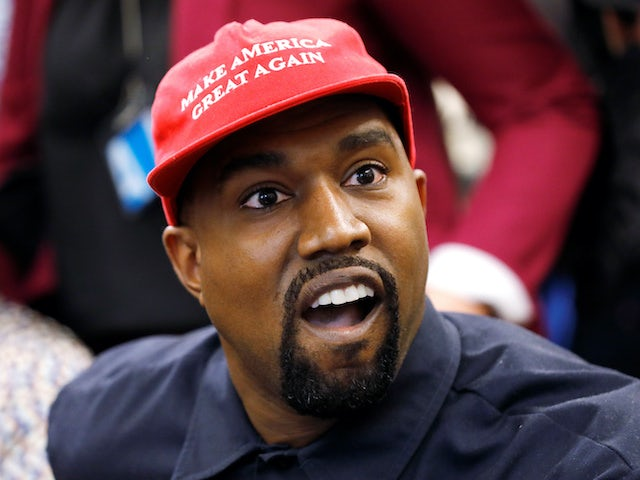 Kanye West admits being