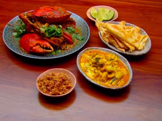 Dani Venn's dish in MasterChef Australia S12E01