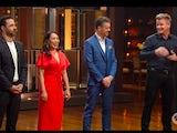 Gordon Ramsay and the new judging panel on the season 12 premiere of MasterChef Australia