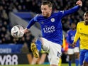 James Maddison in action for Leicester City on March 4, 2020