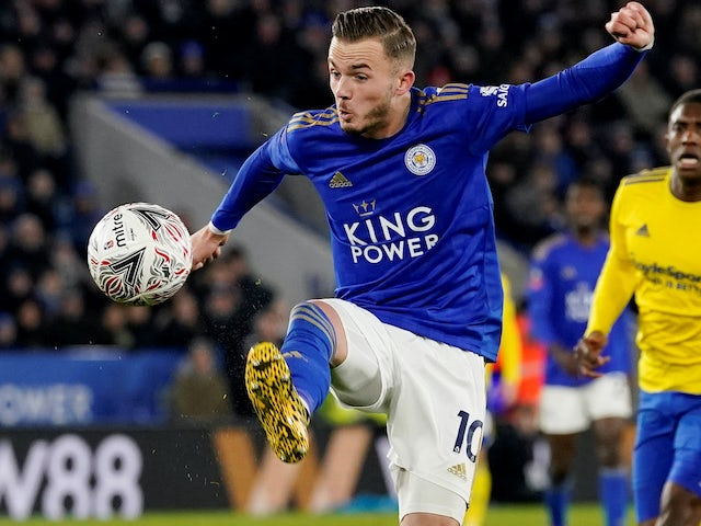 Maddison happy at Leicester but wants to win trophies