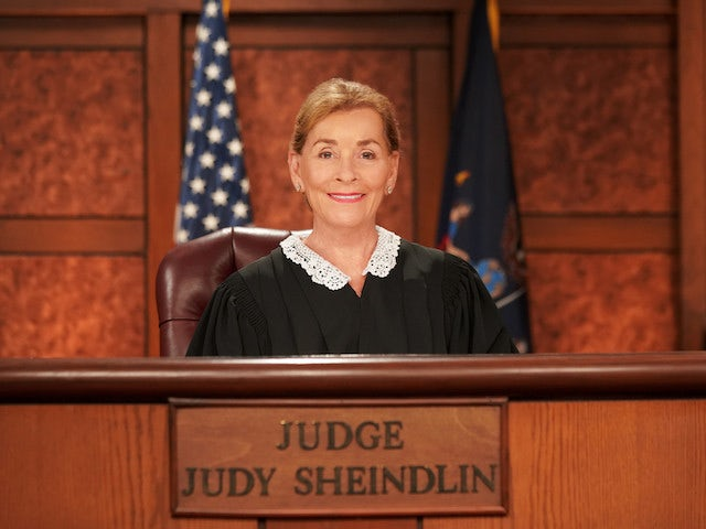 Judge Judy appearing in the TV show Judge Judy