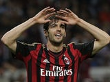 Former Brazil international Kaka pictured in action for AC Milan in May 2014