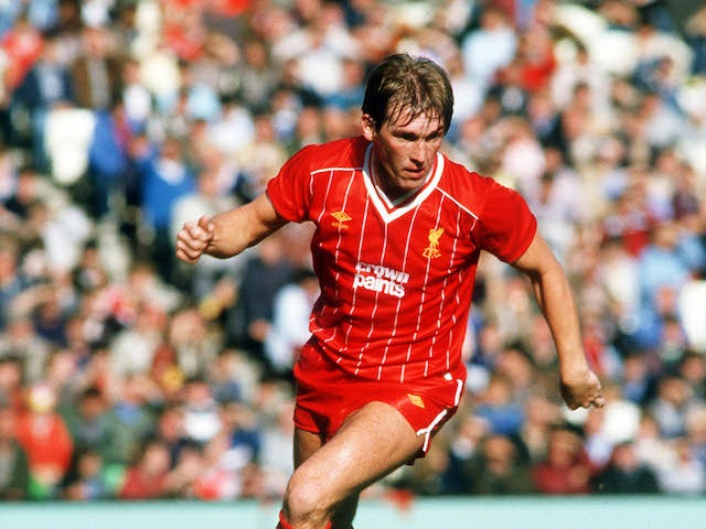 Kenny Dalglish pictured during his Liverpool playing days
