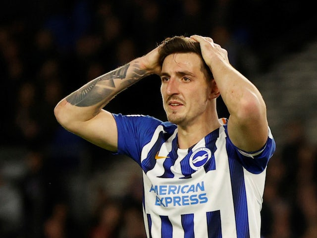 Brighton & Hove Albion's Lewis Dunk pictured in January 2020
