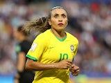 Brazil's Marta pictured in June 2019