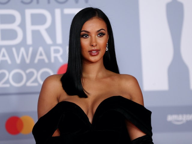 Maya Jama appears for the Brit Awards on February 18, 2020