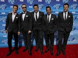 New Kids On The Block pictured in May 2015