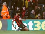 Bournemouth's Philip Billing celebrates scoring on February 1