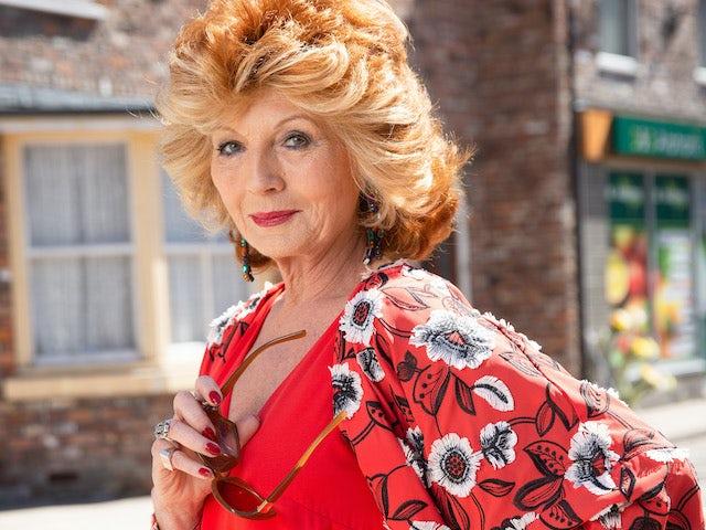 Rula Lenska shades younger Coronation Street stars