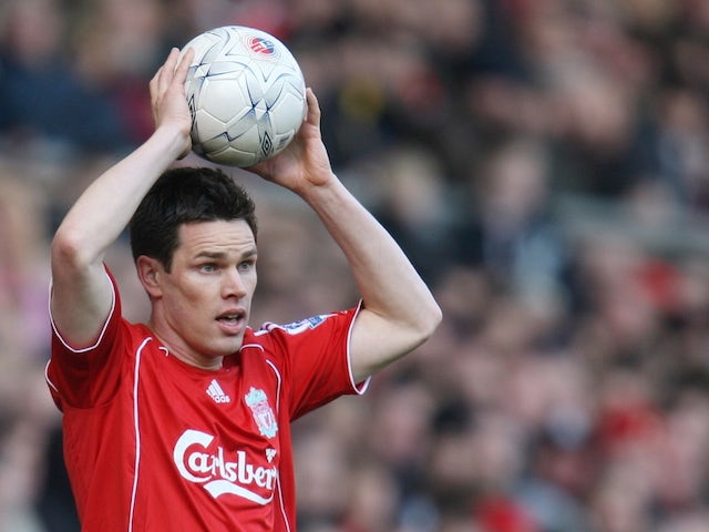 Steve Finnan pictured for Liverpool in 2006