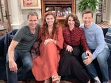 The cast of the revived Will and Grace