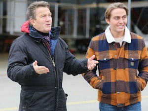 Bradley Walsh and son Barney filming new show in lockdown