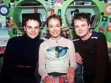 Cat Deeley and Ant & Dec on SMTV