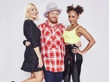 Holly Willoughboozy, Keith Lemon and Mel B on Celebrity Juice