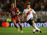 River Plate's Lucas Martinez Quarta pictured in action in August 2019