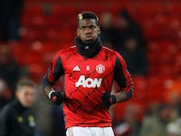 Manchester United midfielder Paul Pogba pictured in December 2019
