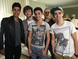 The Wanted pictured in 2012